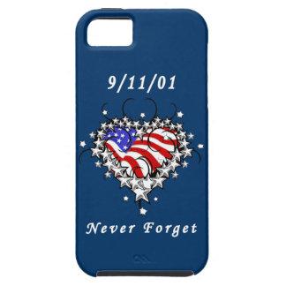 El tatuaje 911 nunca olvida iPhone 5 fundas