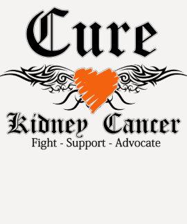 El tatuaje del cáncer del riñón de la curación se camisetas