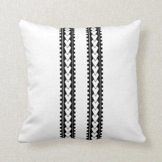 El tatuaje polinesio diseñó la almohada de tiro