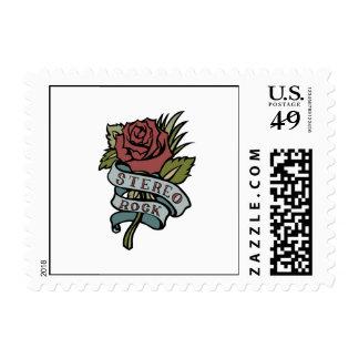 """el tatuaje precioso florece rojo y verde de la """" sellos"""