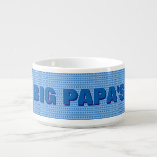 El tazón de la papá grande (personalizable)