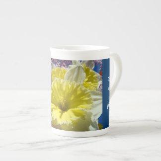 El té con mi China del amigo asalta las flores del Tazas De China
