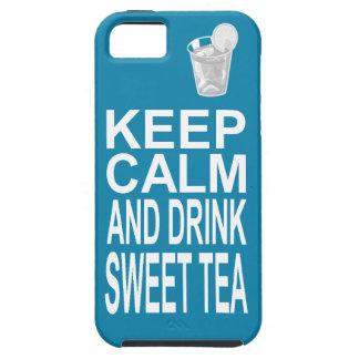 El té dulce meridional femenino brillante guarda iPhone 5 fundas