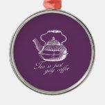 El té es apenas café gay ornamento para reyes magos