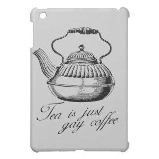 El té es apenas café gay