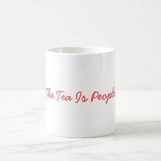 El té es taza de la gente