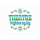 El teatro aclara tarjetas postales