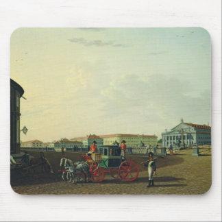 El teatro de Bolshoi en St Petersburg, 1802 Tapete De Ratón
