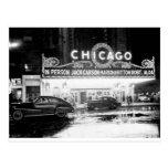El teatro de Chicago en los años 40 Postales
