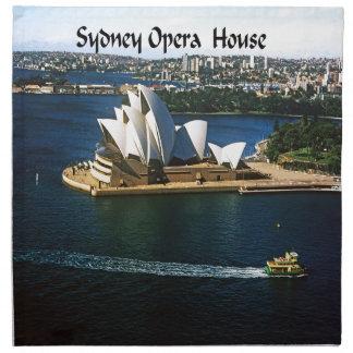 El teatro de la ópera de Sndney Servilletas Imprimidas