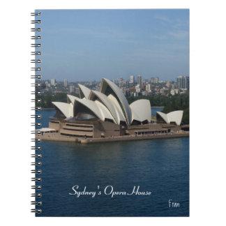 El teatro de la ópera de Sydney Note Book