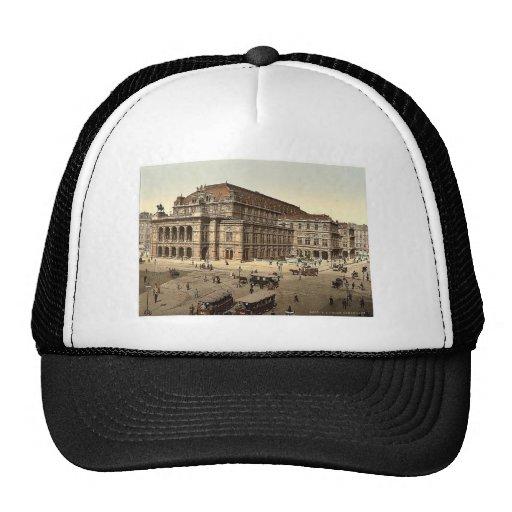 El teatro de la ópera, Viena, Austro-Hungría magni Gorras De Camionero
