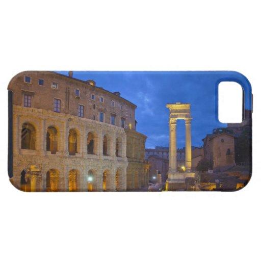 El teatro de Marcelo en Roma en la noche Funda Para iPhone SE/5/5s