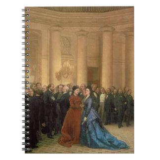 El teatro de Odeon, París, 1869 (aceite en lona) Cuaderno