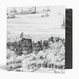 """El teatro del cisne en el Bankside como él Carpeta 1 1/2"""""""