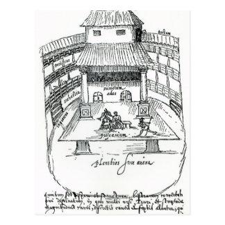 El teatro del cisne, Southwark Tarjetas Postales