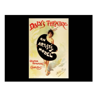 El teatro del Daly del precio de Julio el modelo Postal