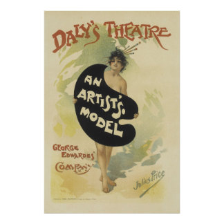 El teatro del Daly Póster