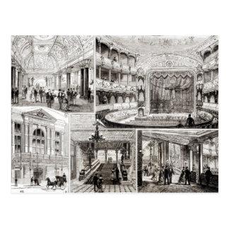 El teatro del imperio, cuadrado de Leicester Tarjeta Postal