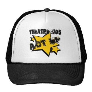 El teatro embroma Act Up Gorros