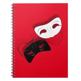 El teatro enmascara el cuaderno