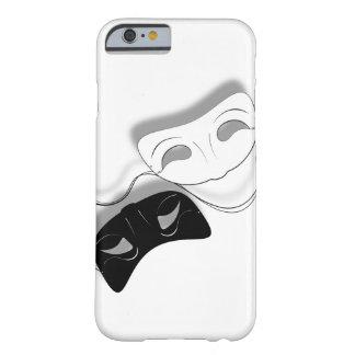 El teatro enmascara la caja del teléfono funda para iPhone 6 barely there