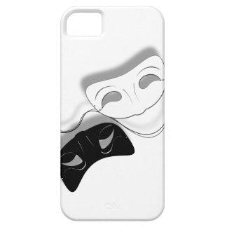El teatro enmascara la caja del teléfono iPhone 5 carcasas