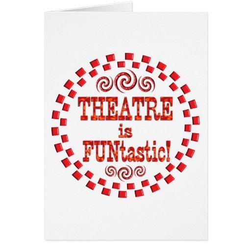 El teatro es Funtastic Tarjeton