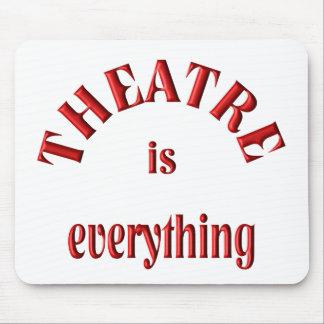 El teatro es todo alfombrilla de raton