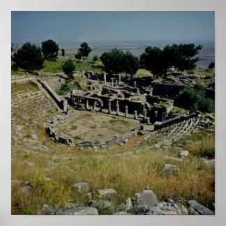 El teatro griego póster