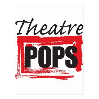 El teatro hace estallar chucherías tarjetas postales