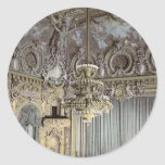 El teatro, interior, classi de Monte Carlo, Rivier Pegatina