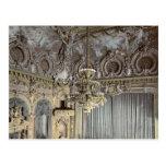 El teatro, interior, classi de Monte Carlo, Rivier Postales