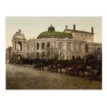 El teatro, Odessa, Rusia, clase (es decir, de Ucra Postal