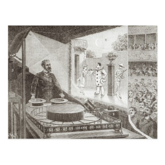 """El """"teatro Optique"""" y su inventor Tarjeta Postal"""