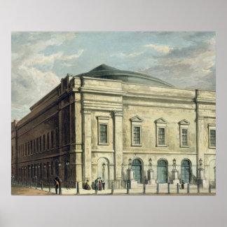 El teatro real, carril de Drury, en Londres, diseñ Impresiones