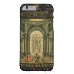 El Teatro Reale en Turín (aceite en lona) Funda De iPhone 6 Barely There