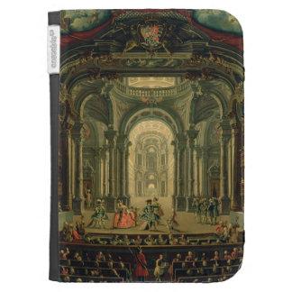 El Teatro Reale en Turín (aceite en lona)