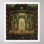 El Teatro Reale en Turín (aceite en lona) Impresiones