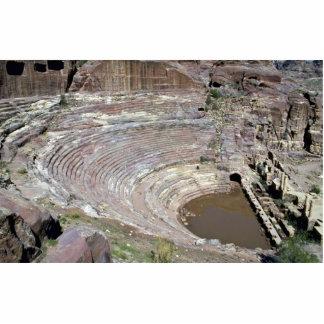 El teatro romano, Petra, Jordania Fotoescultura Vertical