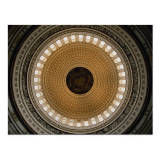 El techo de la bóveda del capitolio, Washington, C Postal