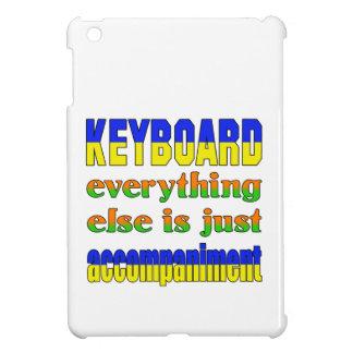 El teclado todo es apenas acompañamiento