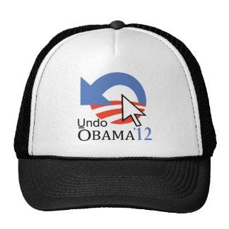 """El tecleo """"deshace"""" el gorra de Obama"""