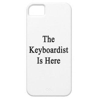 El teclista está aquí iPhone 5 Case-Mate fundas