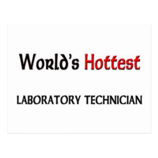 El técnico de laboratorio más caliente de los mund postal