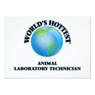 El técnico del laboratorio animal más caliente del