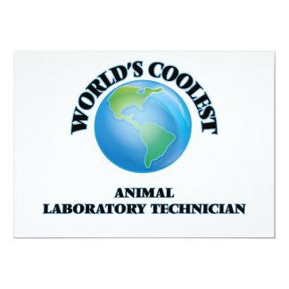 el técnico del laboratorio animal MÁS FRESCO de