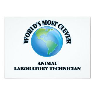 El técnico del laboratorio animal más listo del