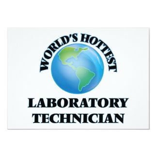 El técnico del laboratorio más caliente del mundo