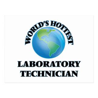 El técnico del laboratorio más caliente del mundo postal